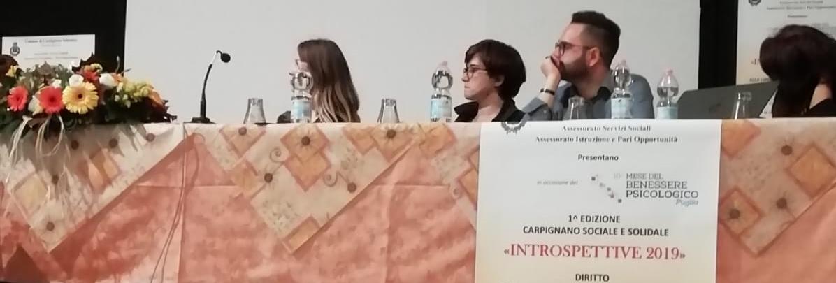 Seminario emozioni a Carpignano